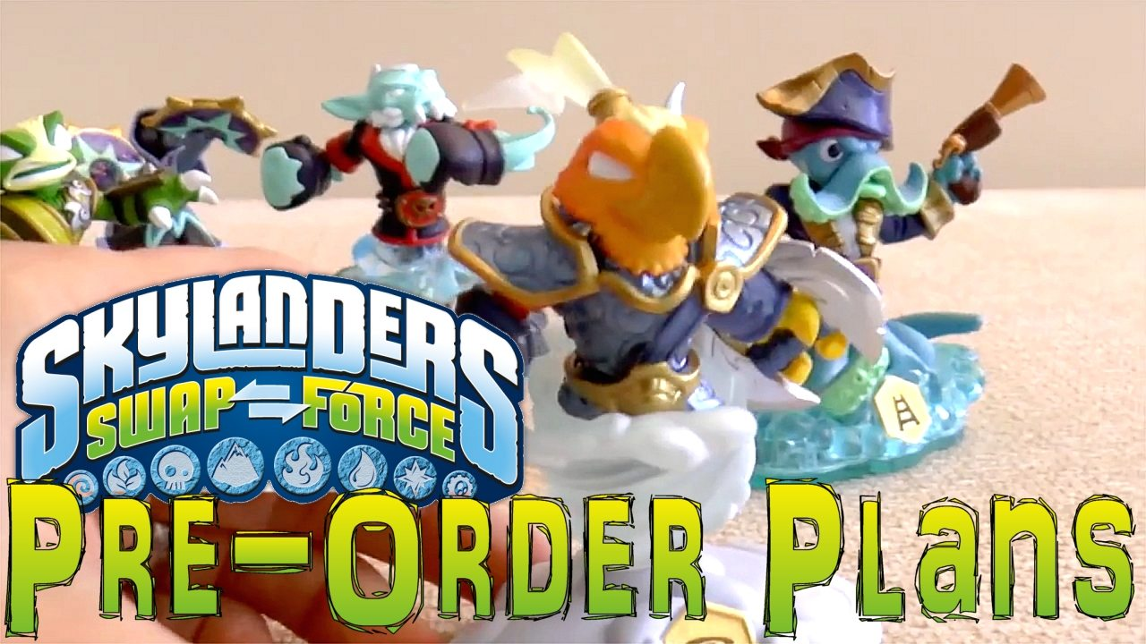 Skylanders Swap Force Speed Run: 144 Character Combinations